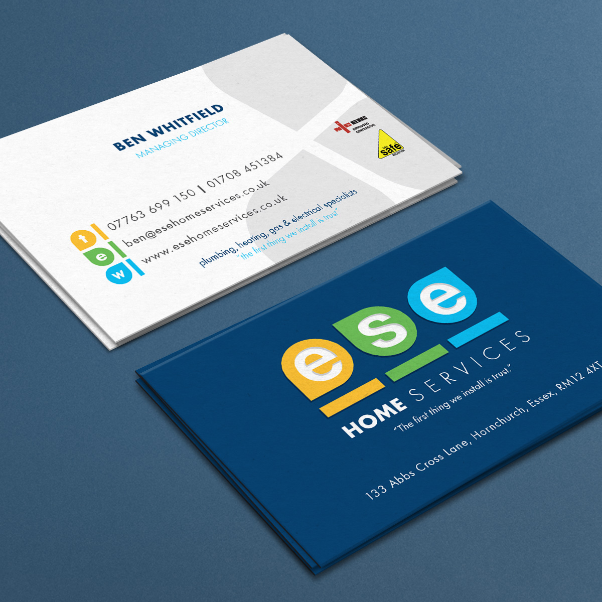 Promoworx - ESE Home Services Business Cards