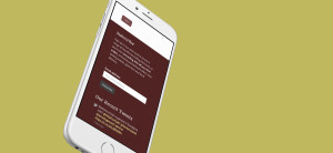 Woodford Wine Room - iPhone Mockup
