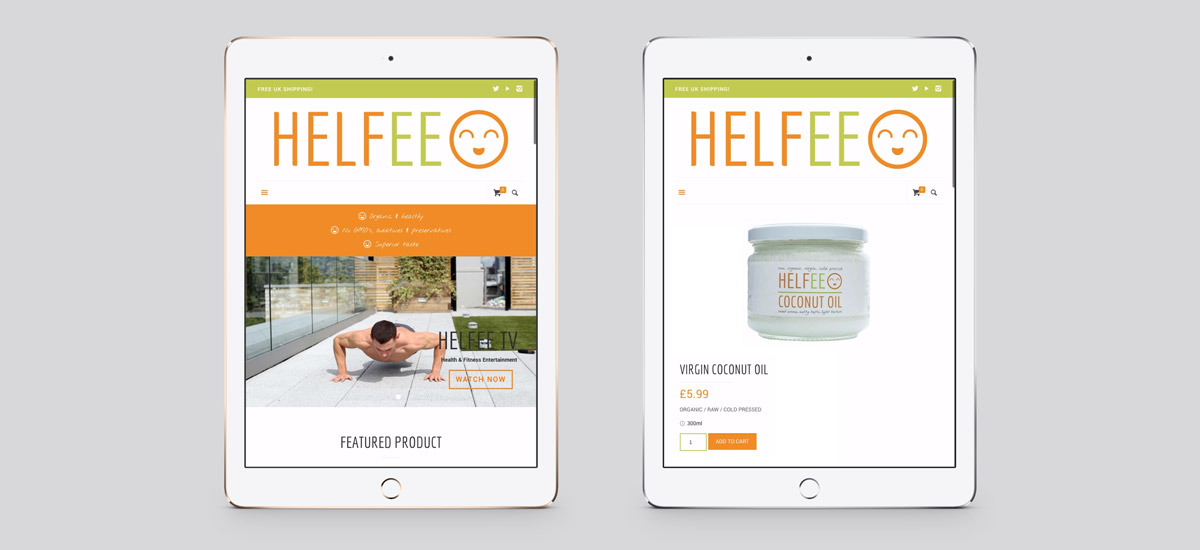 Promoworx - Helfee iPad Website