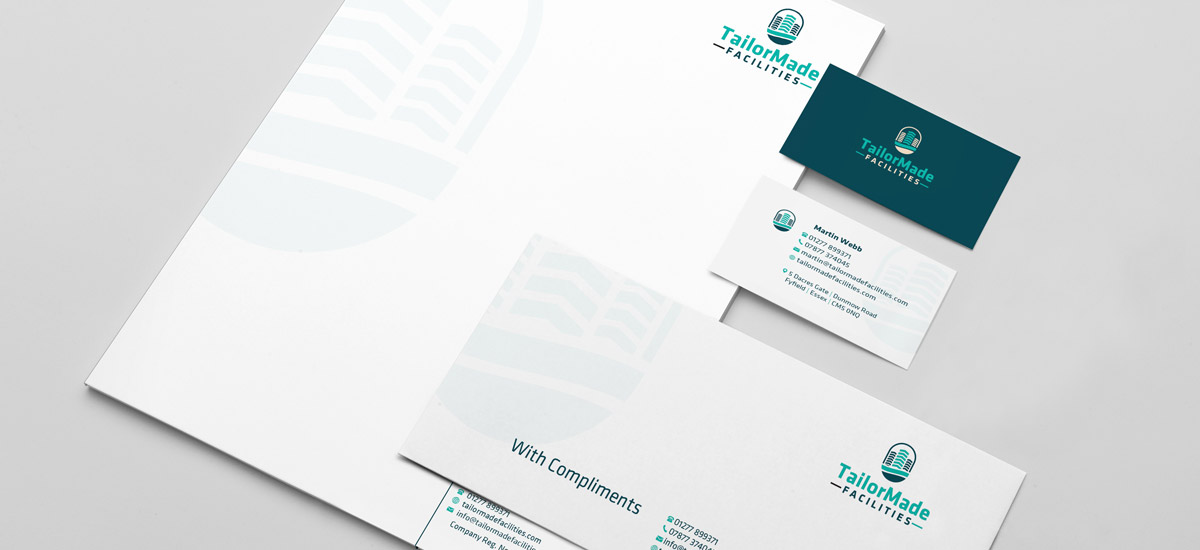 Promoworx - TailorMade Facilities Stationery Design