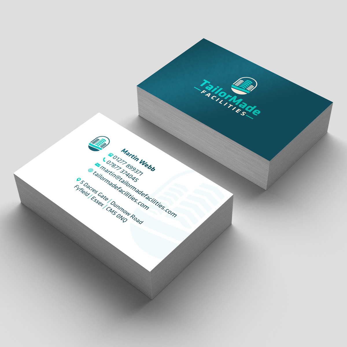 Promoworx - TailorMade Facilities Business Card