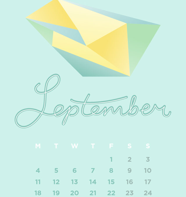 September Wallpaper