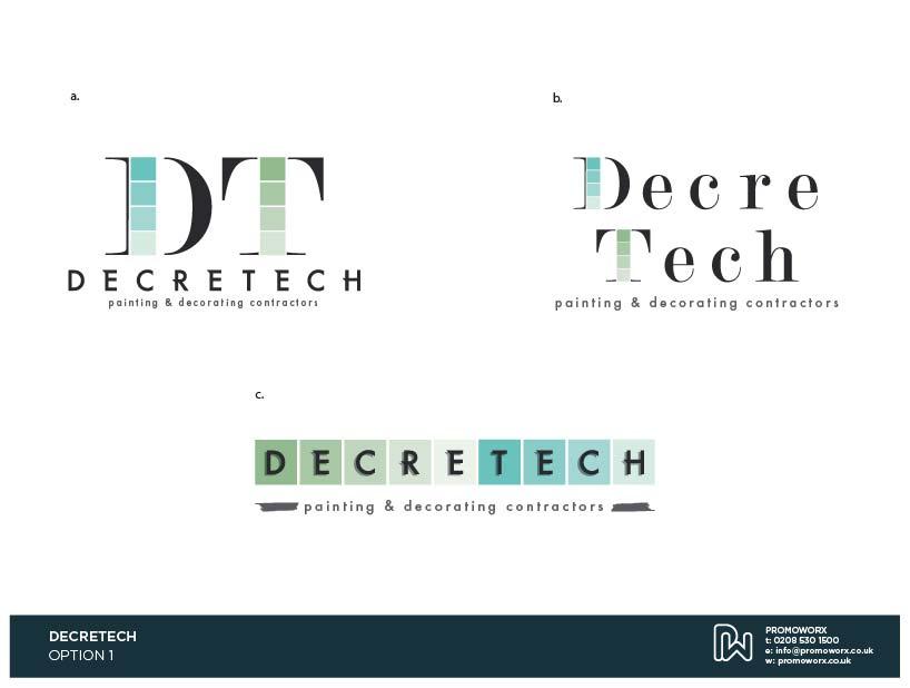 Decretech Logo Options 1-01