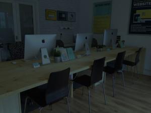 Promoworx Office Desk Background
