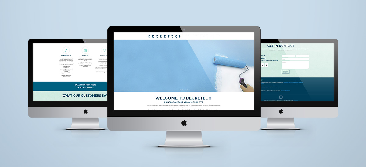 Promoworx - Decretech Website