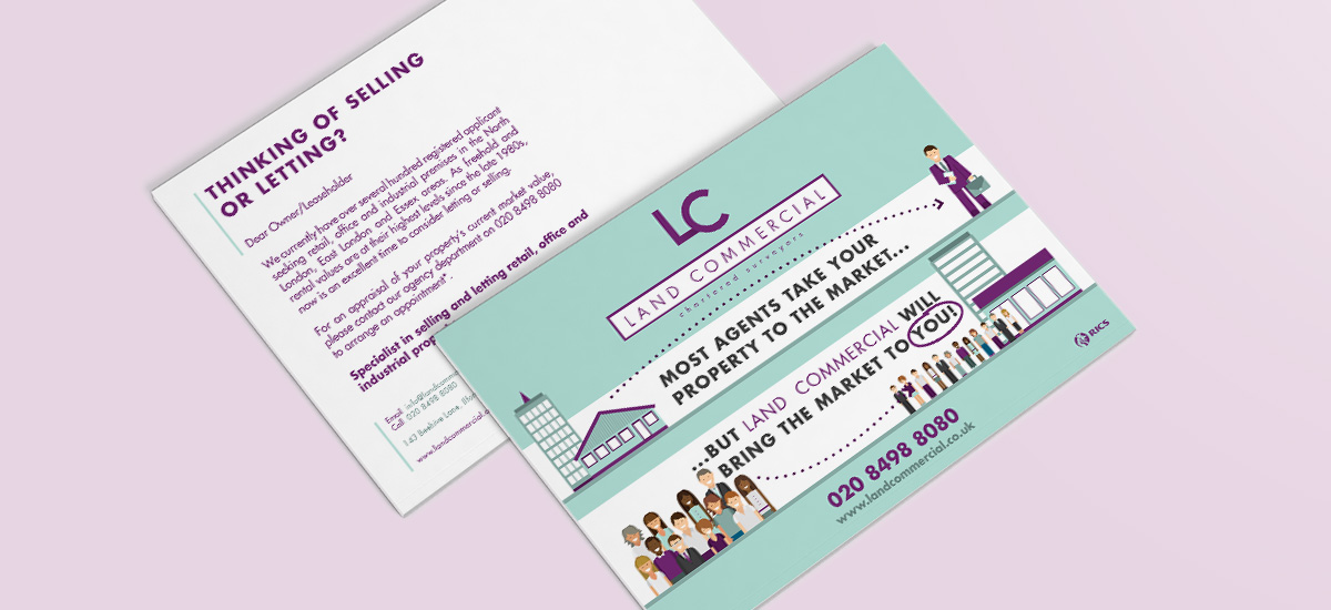 Promoworx - Land Commercial Tout Cards