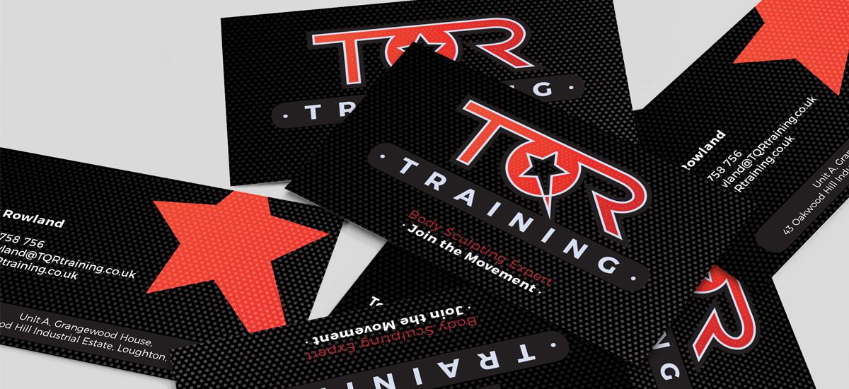 Promoworx - TQR Training Business Cards