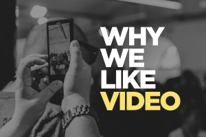 Why We Like Video Blog Header