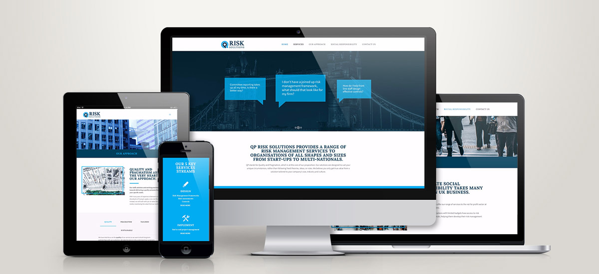 Promoworx - QP Risk Solutions Website Design